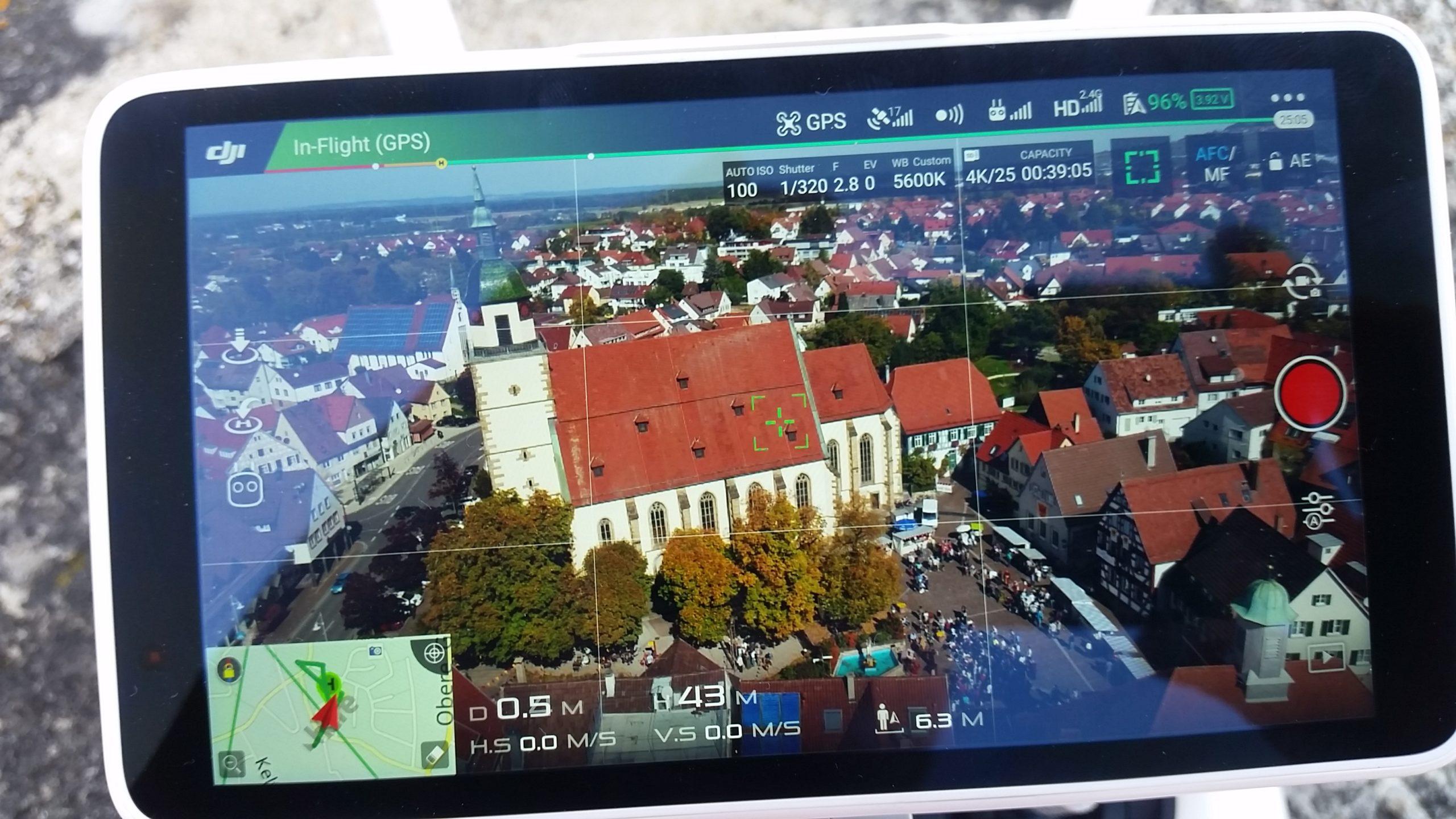 Luftaufnahmen Drohnenaufnahmen von Vision Unlimited aus Goeppingen Esslingen und Stuttgart